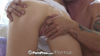 PORNPROS Lean Brooke Logan shoves objects in her ass before guys dick  brooke logan hd doggy-style blonde blowjob anal toys big-boobs skinny anal-sex ass-fuck hardcore natural-tits brunette pornpros anal anal creampie