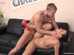 Melonechallenge - Mea Melone's wish came tre with Denis Reed and his cock