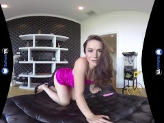 : Tori Black VR Web Cam style video and Sex Toys on BaDoinkVR.com