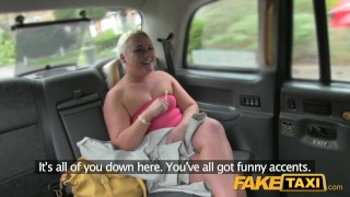 Fake Taxi Bubbly blonde sucks dick in taxi  outside point-of-view big-ass blowjob thick public camera faketaxi curvy rimming spycam car reality rough dogging tanya
