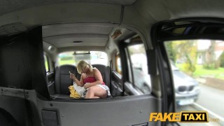 Fake Taxi Bubbly blonde sucks dick in taxi  outside point-of-view big-ass blowjob thick public curvy rimming spycam car reality rough dogging camera faketaxi tanya
