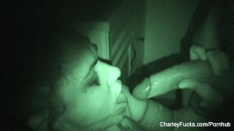 Night vision fucking with supe