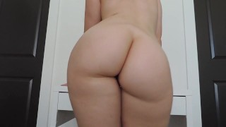 Ashley ''Ass Shaking'' Alban  hard nipples dark horse big-tits shaved-pussy big-ass fetish webcam brunette butt dancing bubble-butt nice-tits ashley alban twerking ass-shaking katy perry