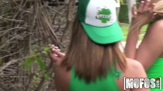 Mofos - St Patty's Day Foursome ass mofosnetwork big-ass young pool group-sex outdoors big-tits cock-sucking brazzers pussy-licking st-patricksday colledge party group teenager