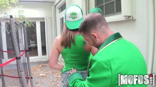 Mofos - St Patty's Day Foursome  st patricksday ass huge-tits outdoors big-tits cock-sucking pussy-licking party mofosnetwork big-ass pool brazzers young group-sex group teenager colledge