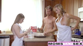 MomsTeachSex - Horny Mom Tricks Teen Into Hot Threeway babes alice march milf eighteen blonde blowjob teen ffm shaved momsteachsex cumshot brett rossi tattoo big-tits smalltits small-tits step-mom daughter doggystyle petite
