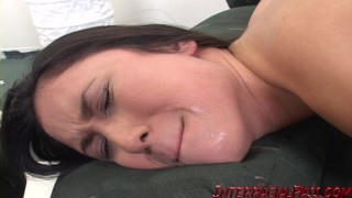 Sakura's asian pussy gets stretched out while her GF watches! bbc interracialpass doggy-style blackzilla asian amateur massive-black-cock big-cock glasses black-dick natural-tits public small-tits brunette reality