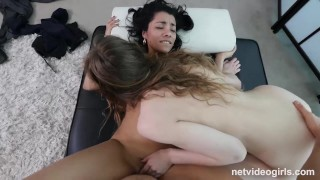 Natural Beauty Has Squirting Orgasms At What She Thought Was Job Interview  real orgasm pussy-eating choking netvideogirls audition amateur big-boobs casting hardcore squirting hairy-pussy natural-tits 3some orgasm doggystyle exotic