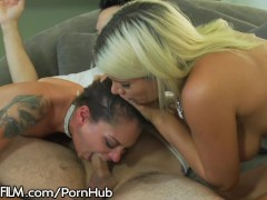 DevilsFilm Mistress and Wife Share Cock