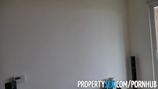 PropertySex - Real estate agent falls in love with client  real estate agent real estate babe point-of-view booty funny blowjob amateur cumshot pov propertysex hardcore brunette reality shaved whitney wright