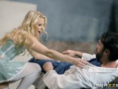 Brazzers – Nurse Ashley Fires loves rough sex
