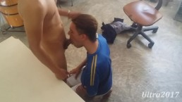 Swallow cum of my straight brother