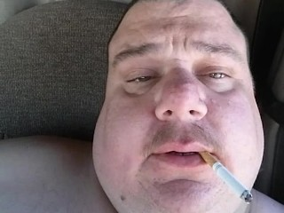 Fat Guy Masturbating 33