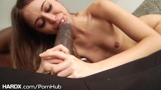 HardX Riley Reid takes on Mandingos Massive Cock  open mouth-cum shot sloppy bbc babe black blowjob huge-cock cumshot porn-star big-black-cock deep-throat natural-tits interracial brunette petite small-tits big-dick hardx