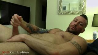 Hugh Hunter Raunchy Muscle Porn Star