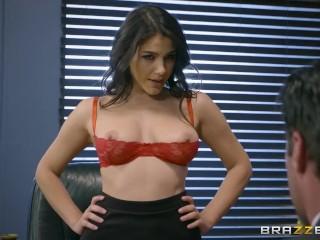 Brazzers - Valentina Nappi gets a hardcore office fucking