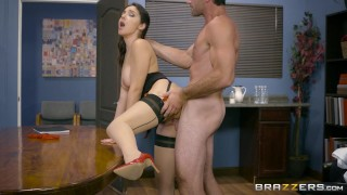 Brazzers - Valentina Nappi gets a hardcore office fucking  big natural-tits ass italian big-cock cosplay blonde doctor big-boobs brazzers office natural-tits butt rough heels uniform stockings chair