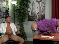 ExtraBigDicks Helping Out the Bosses Big Cock
