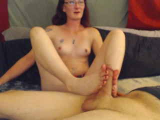 Foot Play n Doggy