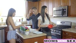 Step-Mom India Summer Caught With Teens Boyfriend  adria rae cheating-wife riding babe big-cock threeway mom momsteachsex step-daughter skinny brunette reverse-cowgirl mother small-tits big-dick teenager facial hot mom