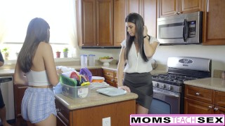 Step-Mom India Summer Caught With Teens Boyfriend adria-rae threeway mom cheating-wife riding babe big-cock momsteachsex mother small-tits brunette big-dick reverse-cowgirl step-daughter skinny hot-mom teenager facial