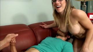 Tricked bi handjob  milf handjob tricked cory chase bisexual cuckold blonde blowjob