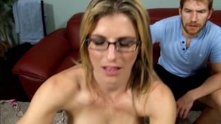 Tricked bi handjob  cory chase threeway blowjob blonde handjob milf bi cock sucking 3some bisex wanked bisexual cuckold tricked