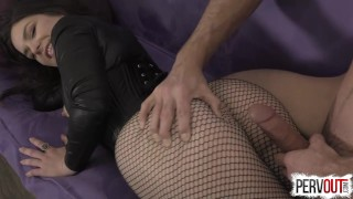Juliette March Seduces You into a Bi Threesome with Lance Hart lance-hart sensual-femdom juliette-march bisexual big-booty kink encouraged-bi sweetfemdom butt suck-his-dick-for-me fishnets pre-cum