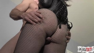 Juliette March Seduces You into a Bi Threesome with Lance Hart lance hart sensual femdom juliette march big booty bisexual kink encouraged bi sweetfemdom butt suck his dick for me fishnets pre cum