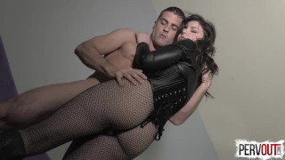 Juliette March Seduces You into a Bi Threesome with Lance Hart  bisexual kink butt sweetfemdom big booty encouraged bi juliette march suck his dick for me lance hart sensual femdom fishnets pre cum