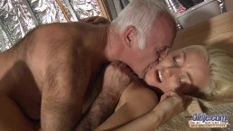 Horny Assistent fucked by old