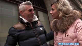 Public Agent Cheating wife with short blonde hair fucks for cash  vicky love sex for money trimmed-pussy outdoors outside point-of-view cumshot public pounded real reality publicagent open mouth cumshot camcorder sex for cash sex with stranger