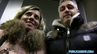 Public Agent Cheating wife with short blonde hair fucks for cash pounded point of view publicagent real camcorder sex for cash trimmed pussy cumshot sex with stranger open mouth cumshot public outdoors outside reality vicky love sex for money