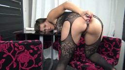 Amazing miss alice captivating masturbation 3