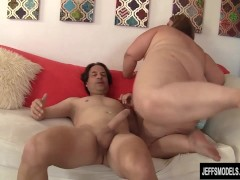 Chubby Cutie Takes a Hard Cock in Mouth and Fat Cunt