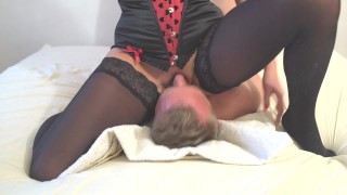 Preview 5 of Amazing squirt on mouth. Face sitting and awesone pussy riding.