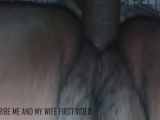 ME AND MY WIFE FIRST VIDEO