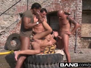 BANG.com: Hottest Gangbang Fucks