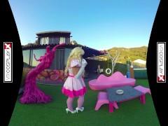VR Porn Princess Peach gets FUCKED by Mario POV on VRCosplayX.com