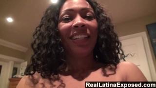 RealLatinaExposed - Tight latina Anita pussy drilled