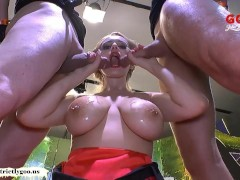 Angel Wicky big Natural Tits cum covered – German Goo Girls