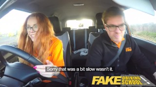Fake Driving School Nerdy redhead teen student fucked to creampie orgasm  big nipples hairy ginger pussy big ass redhead teen british glasses creampie redhead blowjob pov schoolgirl young fakedrivingschool student fake taxi orgasm teenager