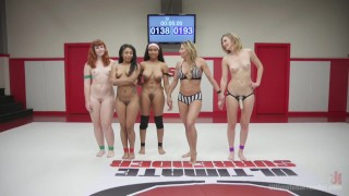 Rookie Cup  pussy-eating big-tits submission humiliation black straight wrestling strap-on face-sitting domination lesbian ultimatesurrender fingering anal tag team barbary rose cali confidential lesbian anal