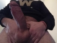 Horny Guy Moaning Precum And Some Dirty Talk