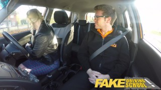 Fake Driving School student with big tits and hairy pussy has creampie young squirting orgasm british blonde hairy-pussy pigtails big-boobs creampie big-tits teen squirt orgasm fakedrivingschool squirt reality funny car sex