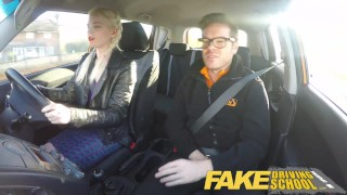 Fake Driving School student with big tits and hairy pussy has creampie young big tits hairy pussy squirting orgasm british blonde big boobs pigtails creampie teen squirt orgasm fakedrivingschool squirt reality funny car sex