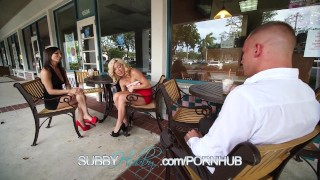 Busty Wife Fucks Stranger And Pegs Her Cuckold  pegging curious swallow milf kink blowjob bi-sexual subbyhubby foot-fetish parker swayzee cum-shot paulina amore big-tits cuckold