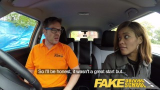 Fake Driving School young ebony learner enjoys creampie for free lessons  ebony teen black girl big black booty young black teen creampie big-tits shaved-pussy funny ebony black english cum-inside fakedrivingschool reality butt petite orgasm british student