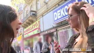 BoxTruckSex - Lesbian seduces straight girl in public - Massage Gone Wild  lesbian seduction boxtrucksex girl on girl public sex toys russian lesbian fingering lesbian oralsex lesbian toys european big tits hungarian fingering invisible sex lesbian public outside natural tits massage