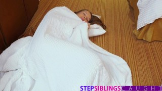 StepSiblingsCaught - Fucking My Lil Sis Liza Rowe While Mom Sleeps  shower sex natural teen big-cock step-brother creampie doggy-style cumshot brunette step-sister small-tits big-dick teenager stepsiblingscaught round-ass step sis